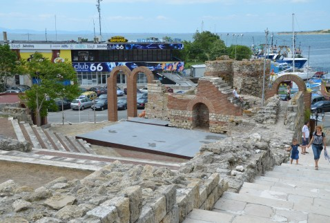 Theatre in Nesebur, Bulgaria