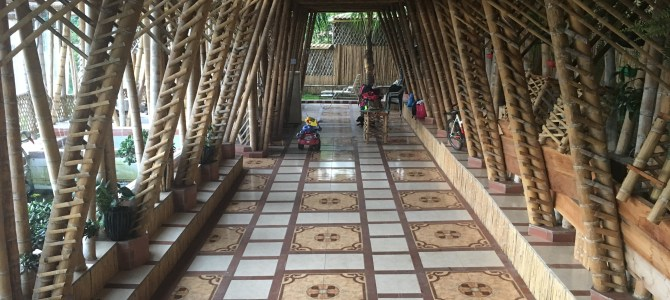 Staying in a Bamboo House