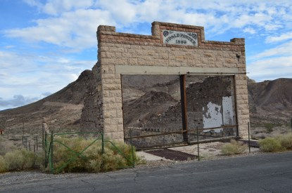 Porter Brothers' Store in Rhyolite, Nevada