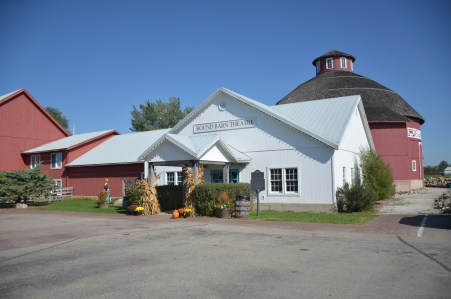 Round Barn Theatre at Amish Acres in Nappanee, Indiana