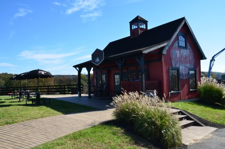Fred's Smokehouse at Jim Beam American Stillhouse in Clermont, Kentucky