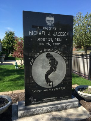 Michael Jackson memorial in Gary, Indiana