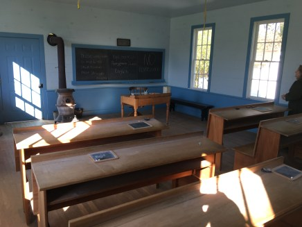 Schoolhouse at Amish Acres in Nappanee, Indiana