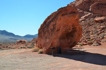 Lone Rock at Valley of Fire State Park in Nevada