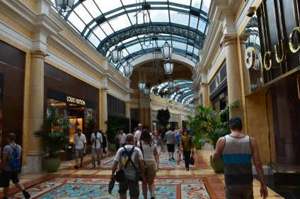 Shopping mall at the Bellagio in Las Vegas, Nevada