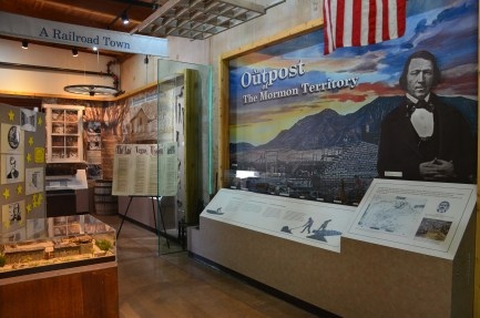 Visitor Center at Old Las Vegas Mormon Fort State Historic Park in Nevada