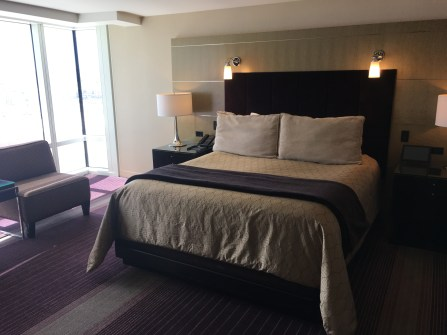 Our room at the Aria in Las Vegas, Nevada