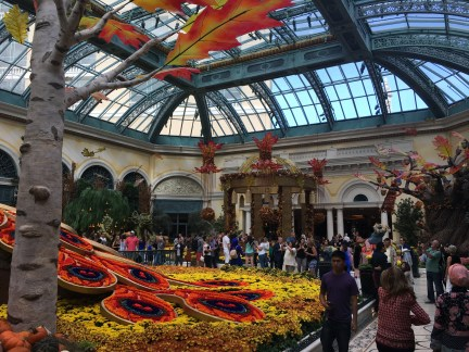 Conservatory and Botanical Gardens at the Bellagio in Las Vegas, Nevada
