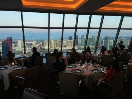 The view at Alizé in Las Vegas, Nevada