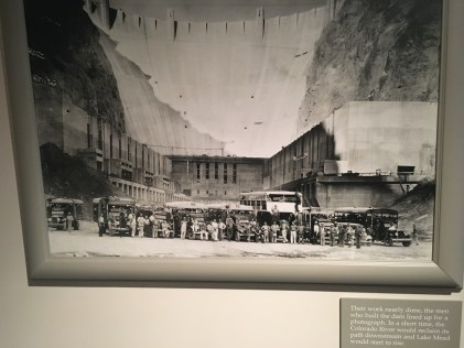 The last photo taken before the floodgates opened at the Boulder City/Hoover Dam Museum in Boulder City, Nevada