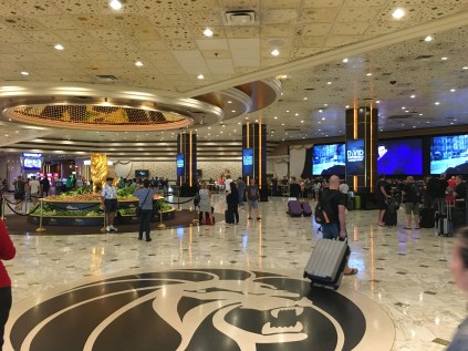 Lobby at the MGM Grand in Las Vegas, Nevada