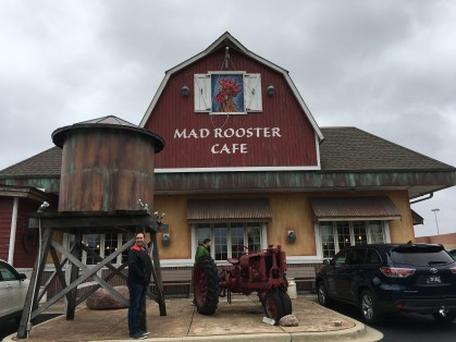 Mad Rooster Café in West Milwaukee, Wisconsin