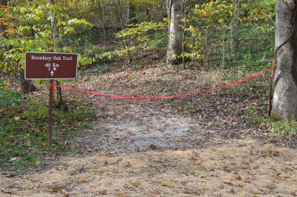 Boundary Oak Trail at Abraham Lincoln Birthplace National Historical Park in Kentucky