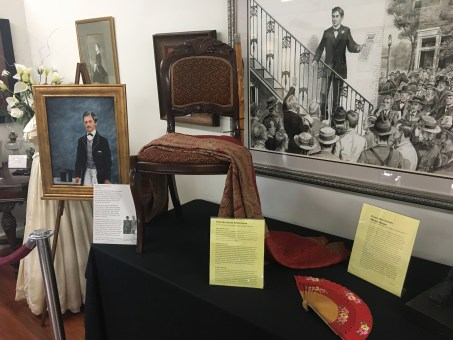 Items from the Lincoln White House at the Lincoln Museum in Hodgenville, Kentucky