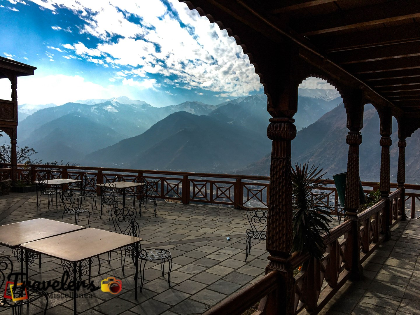 View from Naggar Castle 2