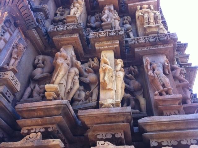Mysterious animal sculptures of Khajuraho