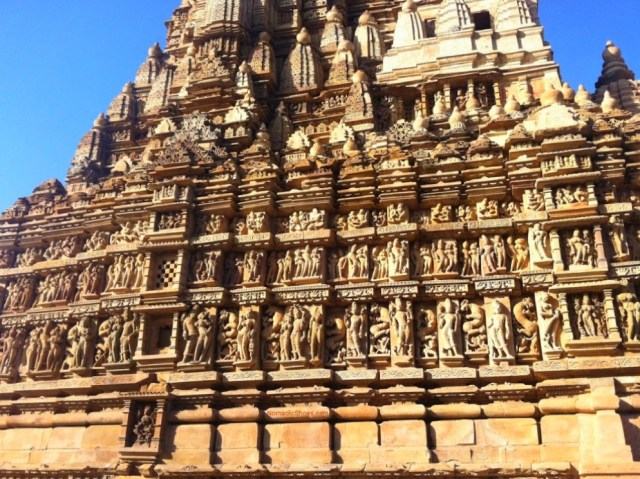 A Temple in Khajuraho