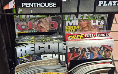 What Porn Magazines at Boy's Eye Level Says About Today's Men