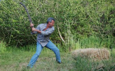 How Hitting A Hay Bale With A Big Stick Changed My Life