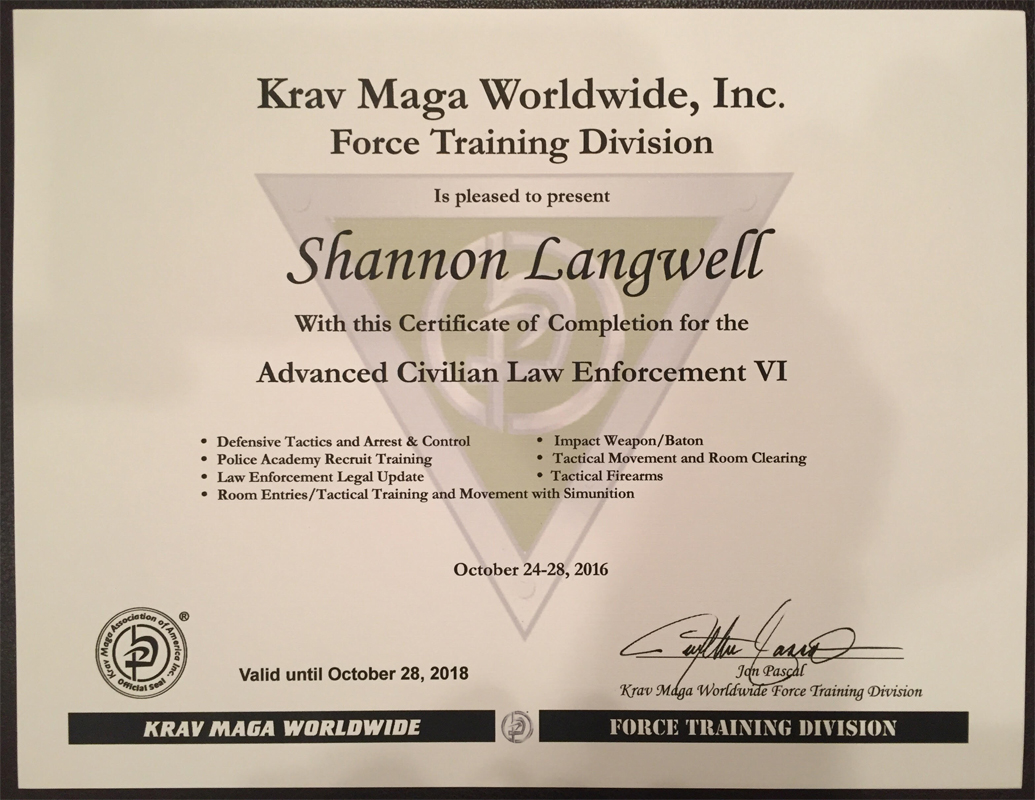Force Training Division Nomad Krav Maga Las Vegas