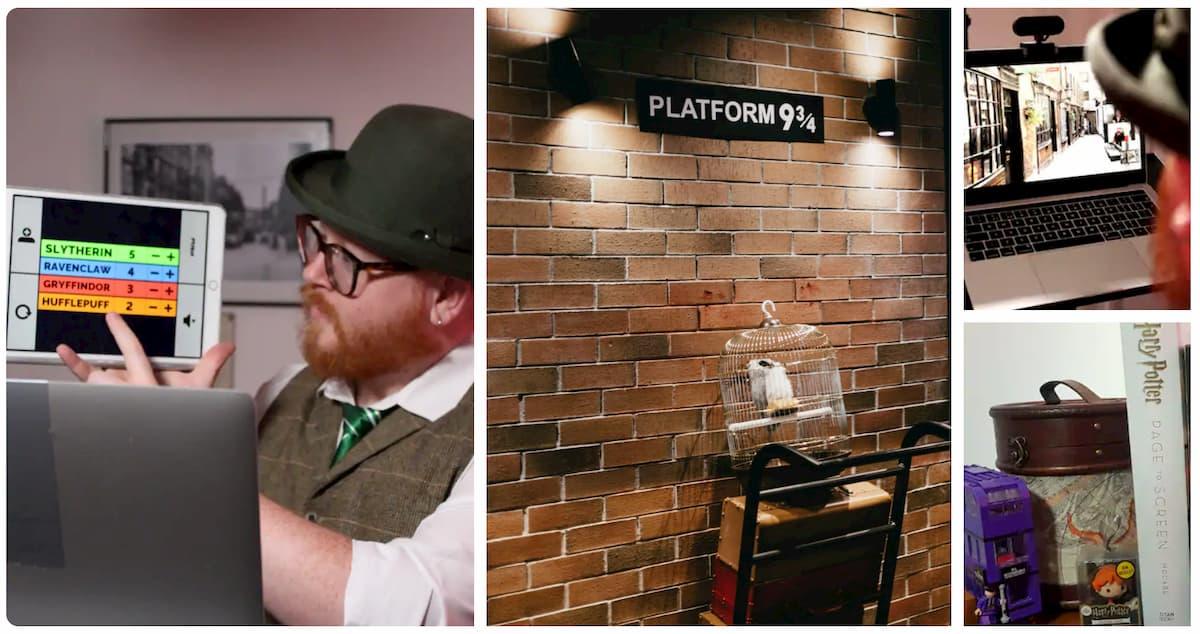 expériences Airbnb en famille Londres tour guidé magique de la ville Harry Potter