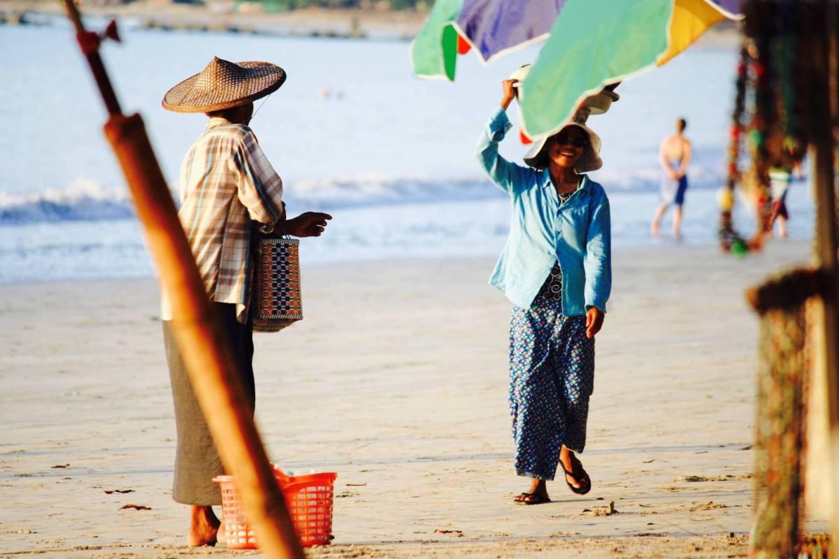 plage Myanmar
