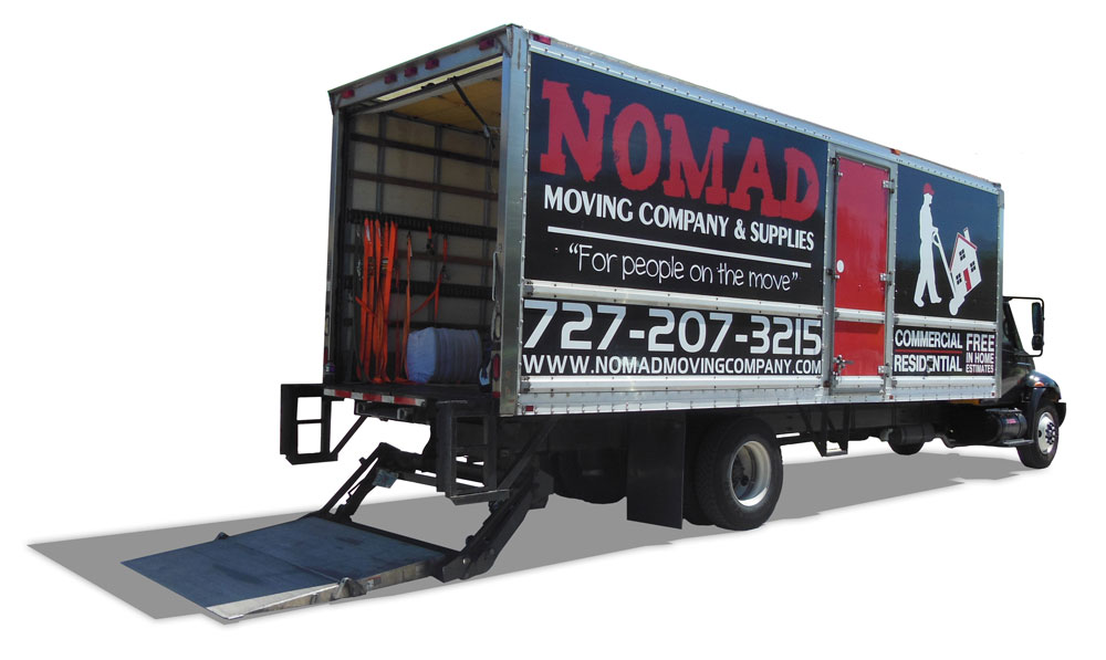 Nomad Moving Company Truck