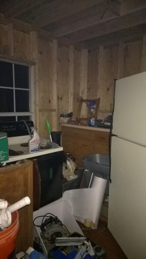 The Kitchen, prior to move-in