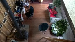 from the bedroom loft