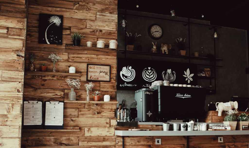 咖啡廳環境照