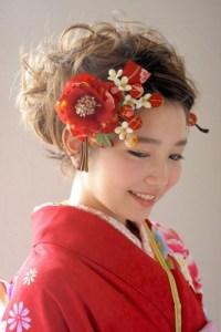 成人式の髪型25