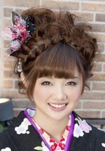 成人式の髪型7