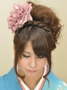 成人式の髪型11