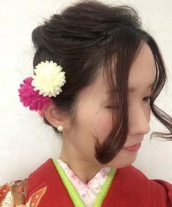 成人式の髪型23
