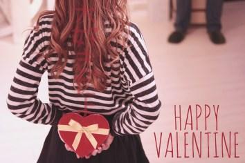 バレンタインチョコの渡し方