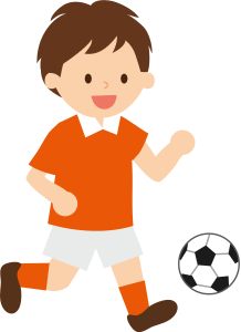 イケメンサッカー少年の好きな人はマネージャー