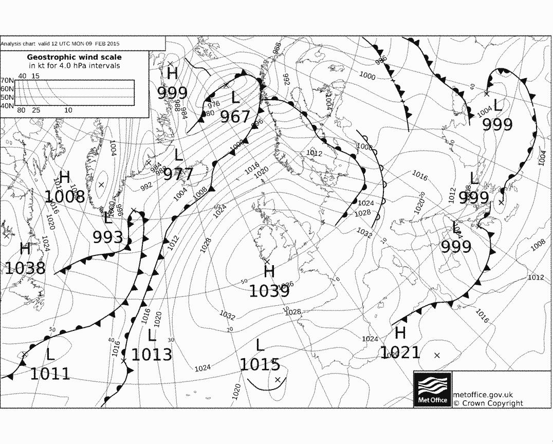 Surface Pressure Charts