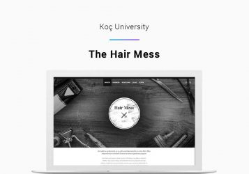 Koç University College of Engineering Wordpress Website Development Project