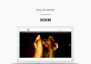 Koç University KOÇ-KAM Web Site Project