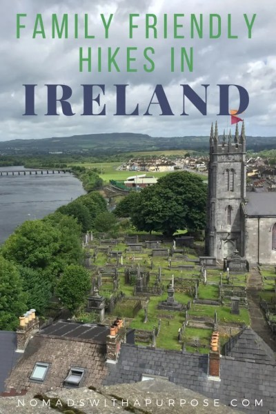 Best Hikes in Ireland Pin