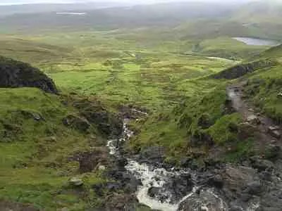 Hiking Isle of Skye at the Faerie Pools
