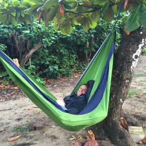 living in an RV and traveling with a hammock