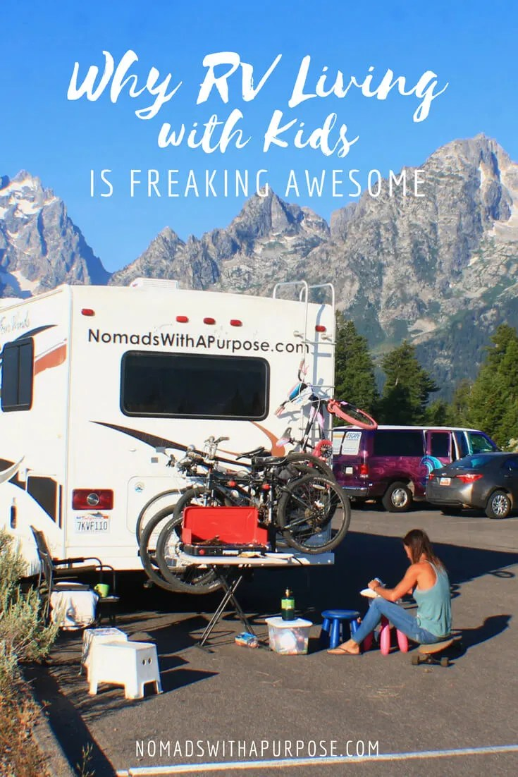 Living in an RV and Traveling (with 5 kids) is Freaking Awesome