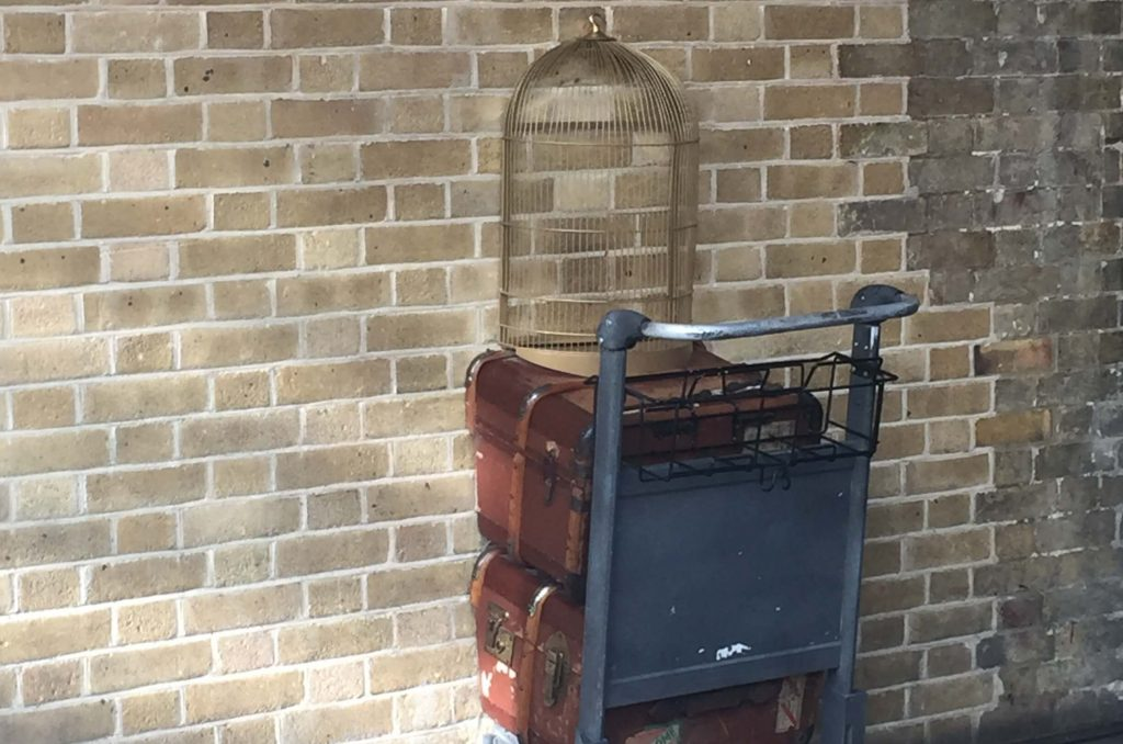 Harry Potter platform 9 3/4