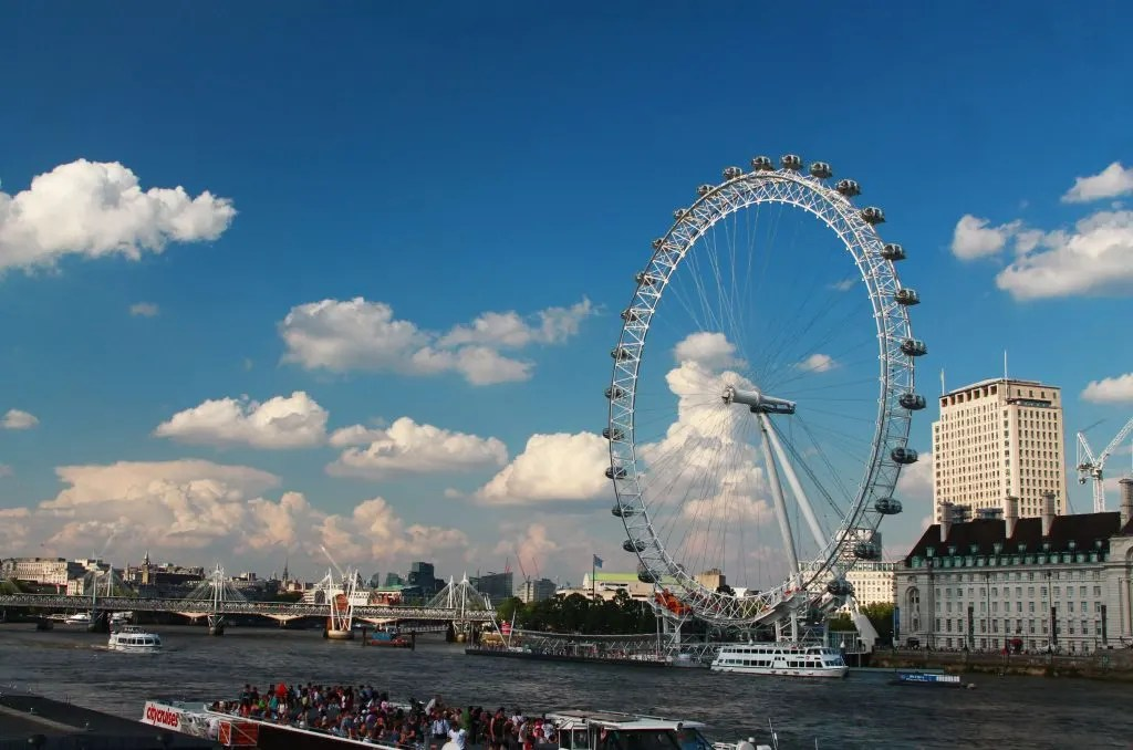 things to do in London, London Eye