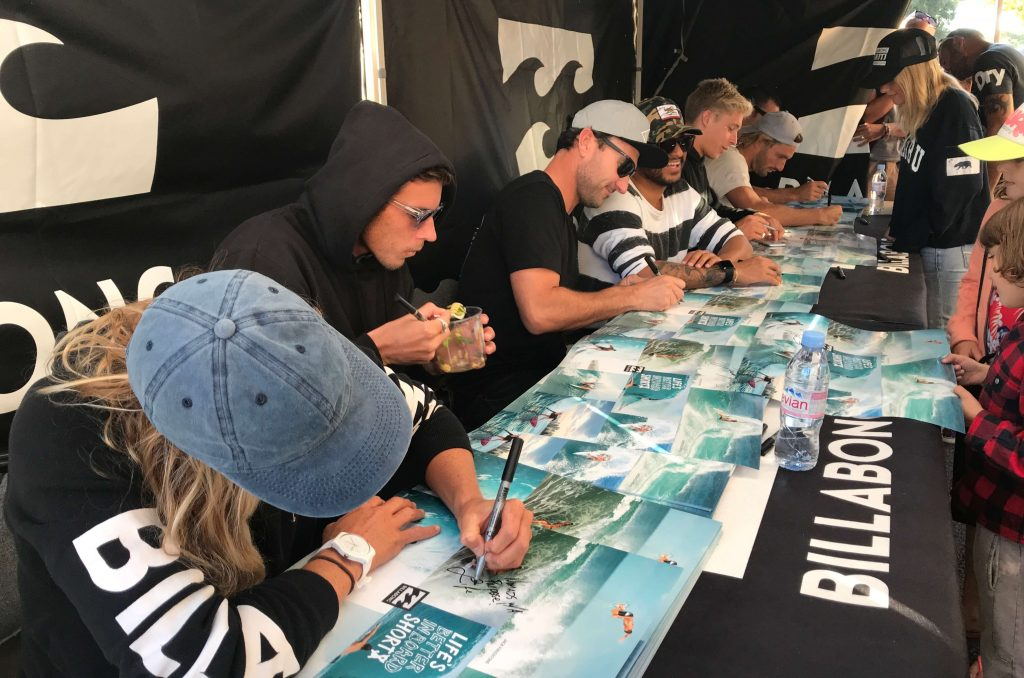 Quicksilver/Roxy Pro Signing Night, Hossegor France