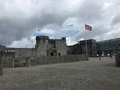 ireland castles, king johns castle, europe castles