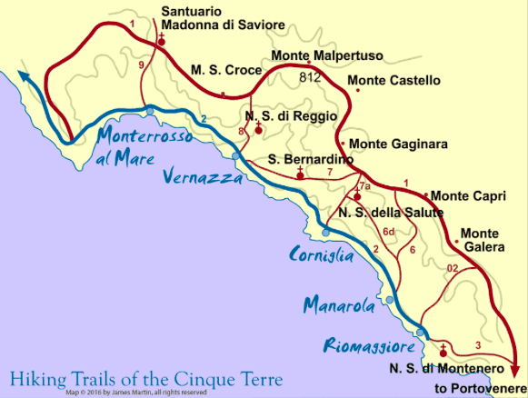 How to Hike the Cinque Terre