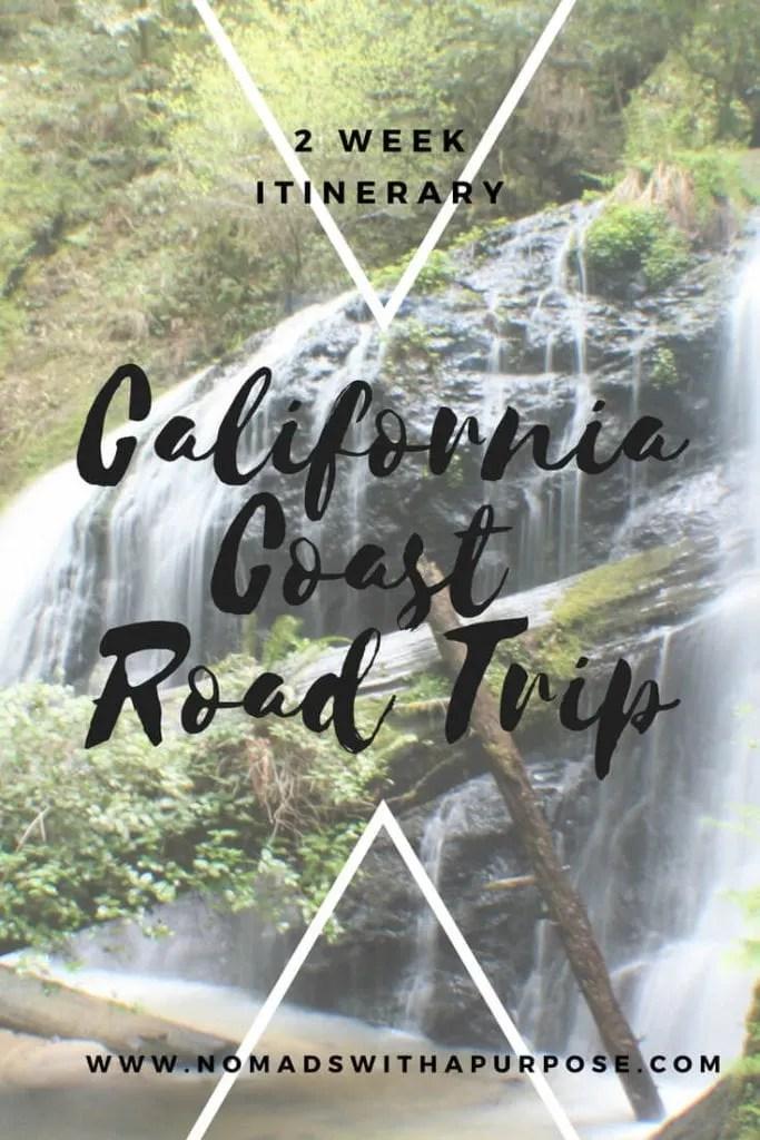 CaliforniaCoast Road Trip PIN 2