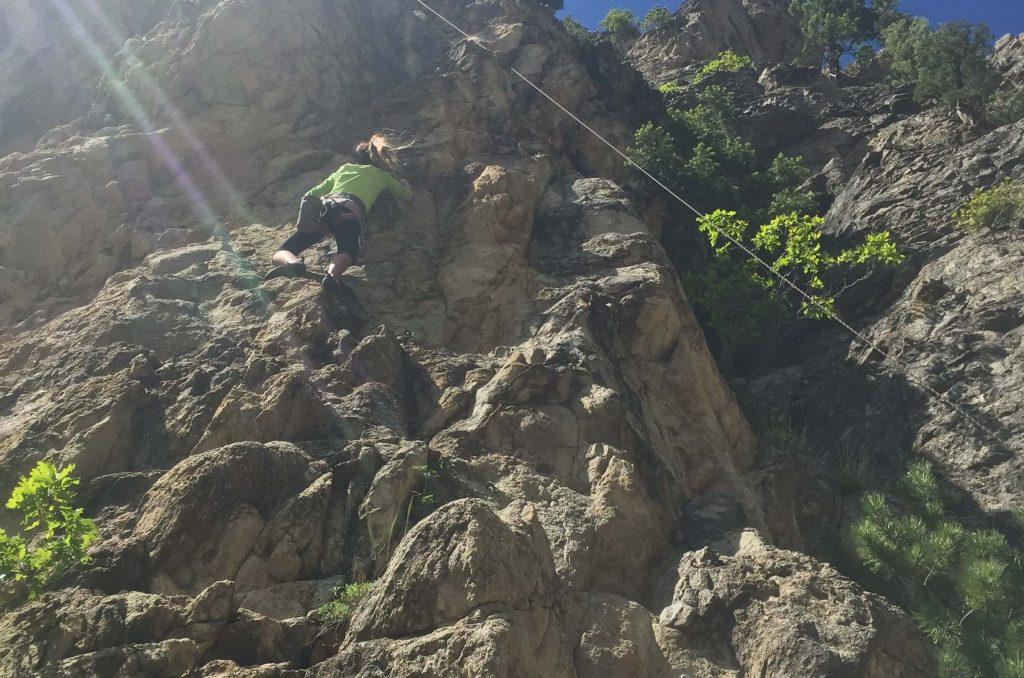 ouray climbing
